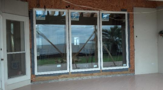 trouble shoot a window or door the problem was poor installation to begin with correcting handy man and discount house installations